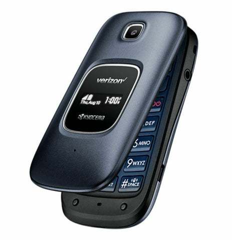 New 4G LTE Kyocera Cadence S2720 Verizon Basic Flip Phone Page Plus - Beast Communications LLC