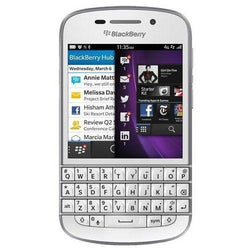 Blackberry Q10 Whtie 16GB Factory Unlocked, international 4G LTE - Beast Communications LLC