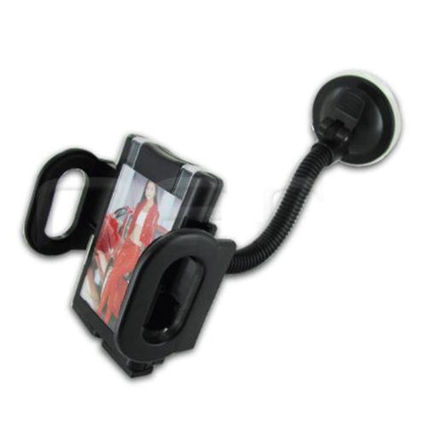 Universal Black Color Car Mount Holder For Casio G'zOne Ravine 2 C781 - Beast Communications LLC