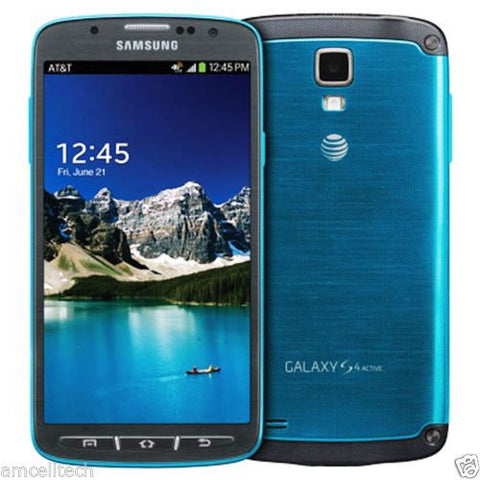 Samsung Galaxy S4 SGH-I537 Active UNLOCKED 16GB Blue Smartphone - Beast Communications LLC