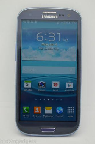 Samsung Galaxy S3 SGH-I747 16GB BLUE UNLOCKED GSM TMOBILE AT&T CRICKET METRO PCS - Beast Communications LLC