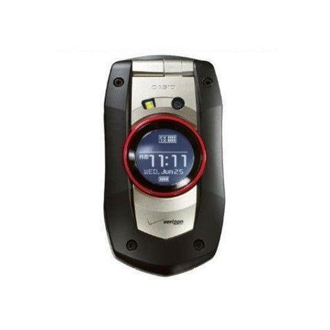 New Casio C711 Gzone Boulder Verizon Rugged Camera Basic Cell Phone Black - Beast Communications LLC