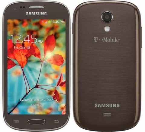 Samsung Galaxy Light SGH-T399 - 8GB - Dark Brown (T-Mobile) Smartphone - Beast Communications LLC