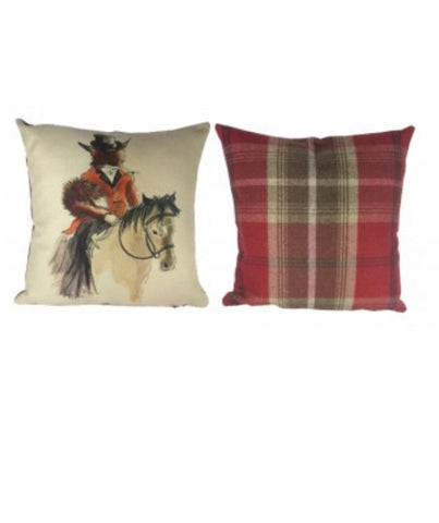 Mr & Lady Fox Cushions