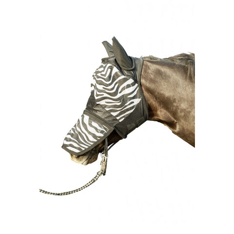 HKM Zebra Fly Mask
