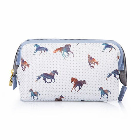 TaylorHe Classic Horses Make Up Bag