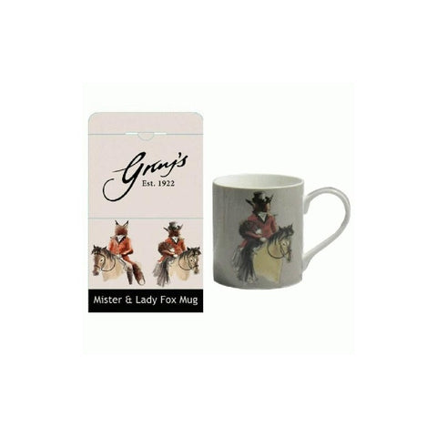 Mr & Lady Fox Mug