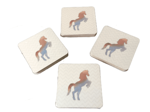 Rearing Horse Coasters