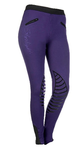 HKM Starlight Silicone Knee Patch Breeches