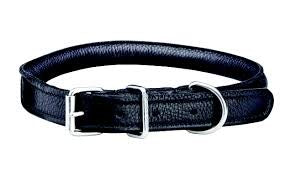 WoofMasta Rolled Leather dog collar