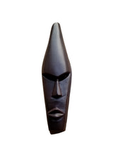 Ghanian Medium Dark Plain Mask - Décor Wall Decor