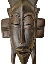 Senoufu Passport Mask With A Kalao Wings Headdress - Décor Masks Wall Decor