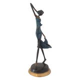 Bronze Figurine of African Dancer | House of Avana