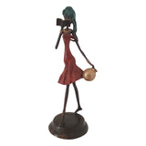 Bronze Statue of a Multi-Tasking African Woman | House Of Avana