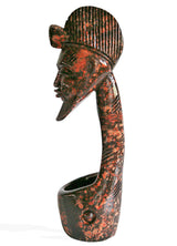 West African Vintage Revived Senufo Hand Carved Marina Wood Chapalo or Wine Ladle