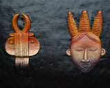 7-Masks Wall Decoration - Décor