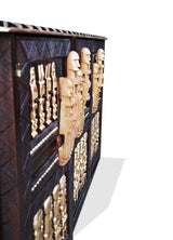 Buffet cabinet 100% hand sculpted in wood