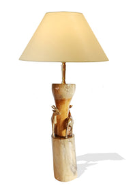 Deer Love Table Lamp - Décor Lamps