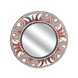 African Sun Mirror - Décor Wall Decor