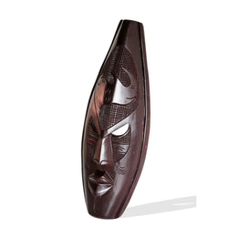 Ghanian Dark Rhinoceros Mask - Décor Wall Decor