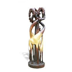 Golden Giraffe Family Floor Lamp - Décor Lamps