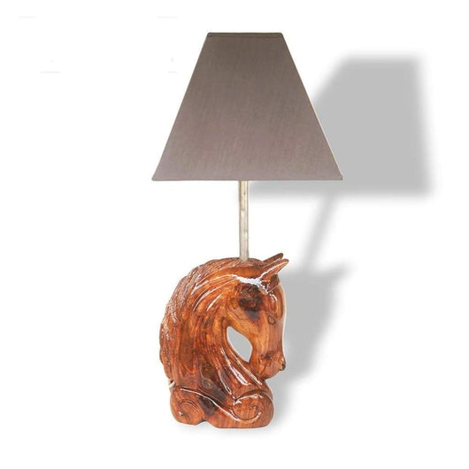 Horse Head Lamp - Décor Decor Lamps Living Room Lobby Table Lamp
