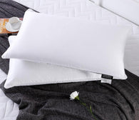 Pure 100% Natural Mulberry Silk Filled Pillow with Cotton Shell Perfect for Luxury Sleeping