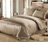 25 Momme Durable Natural and Seamless100% Pure Mulberry Silk Duvet Cover