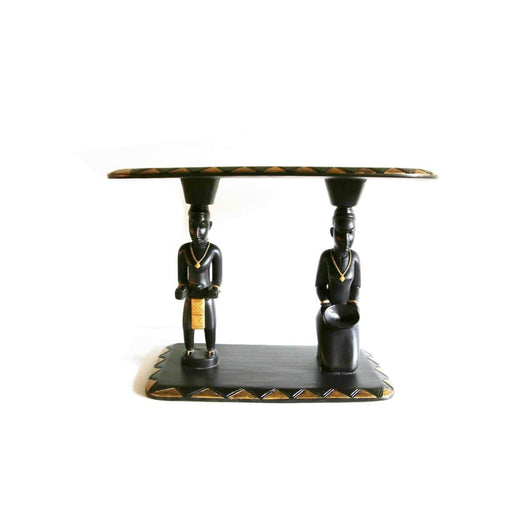 Senoufu King & Queen Poro Table - Furniture 100% Hand Crafted Africa African Art African Culture