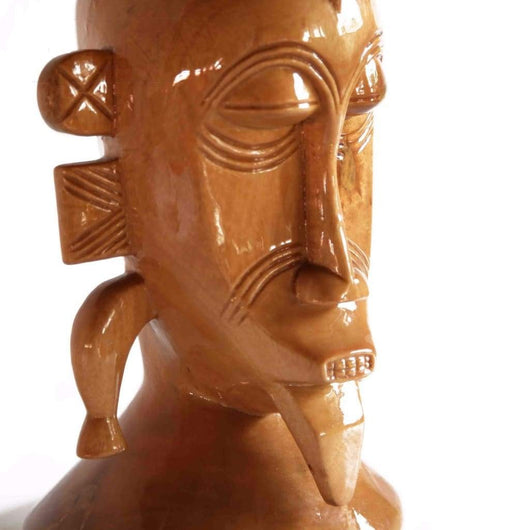 Senoufu Mask With Raised Ears - Décor 100% Hand Crafted Africa African Art African Culture