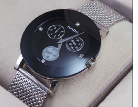 Rado Esenza Chronograph Black Steel Watch