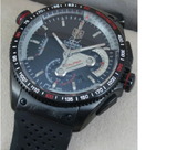 Tag Heuer Grand Carrera Calibre 36 ETA 7750 Valjoux Automatic Chronograph Rubber Strap Watch