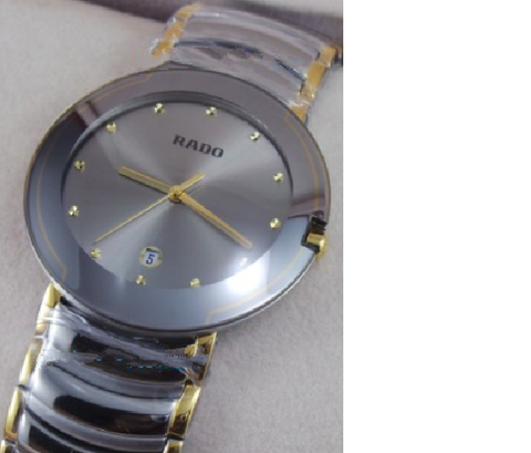 Rado Centrix Jubile Diamond Markers Grey Dial Watch