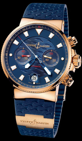 Ulysse Nardin MAXI MARINE CHRONOMETER Blue Limited Edition Mens Watch