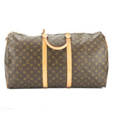 Louis Vuitton Monogram Keepall 55 Boston Bag