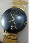 Rado Centrix jubile Golden Black Dail Watch