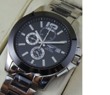 Longines Conquest Black dail Mens watch