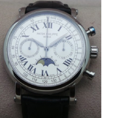 Patek Philippe Grande Complication Swiss ETA 7750 Valjoux Automatic Movement Watch