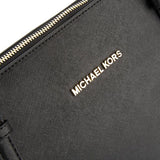 Michael Kors Black Saffiano Leather Jet Set Large East/West Tote