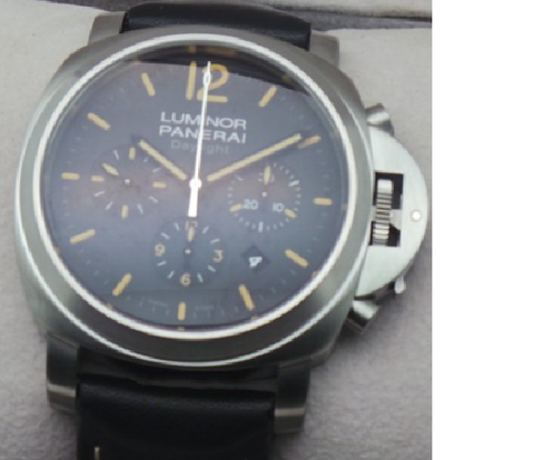Luminor Panerai DAYLIGHT Chronograph Swiss ETA 2250 Valjoux Movement Automatic Mens Watch