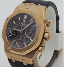 Audemars Piguet Royal Oak Offshore Rose Gold Swiss ETA Valjoux 7750 Automatic Watch