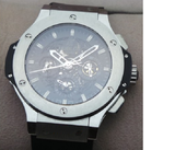 Hublot Aero Bang Steel Swiss ETA 7750 Valjoux Movement Automatic Watch