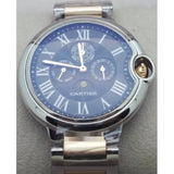 Cartier Ballon Bleu De Celender Dual Tone Black Watch
