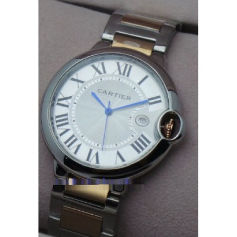 Cartier Ballon Bleu de Mens Dual Tone Watch