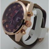 Tag Heuer Carrera Calibre 1887 Red Bull Rose Gold Brown Watch