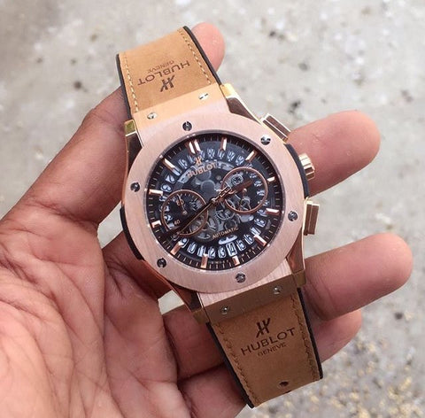 Hublot Rose Gold Limited Edition