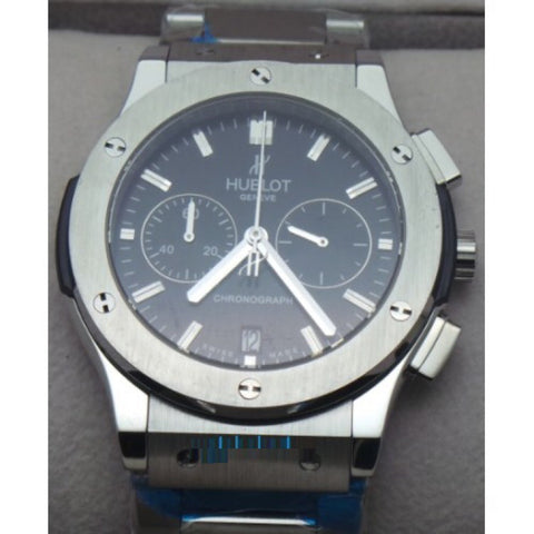 Hublot Classic Fusion Chronograph Steel Watch