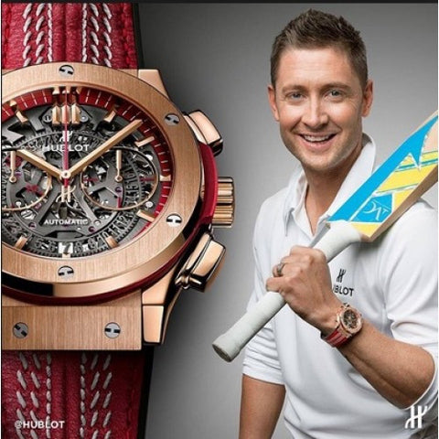 Hublot Vendom Classic Fusion Chrono Cricket World Cup RED Watch
