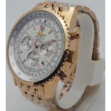 Breitling Navitimer Chronograph Rose Gold Mens Watch