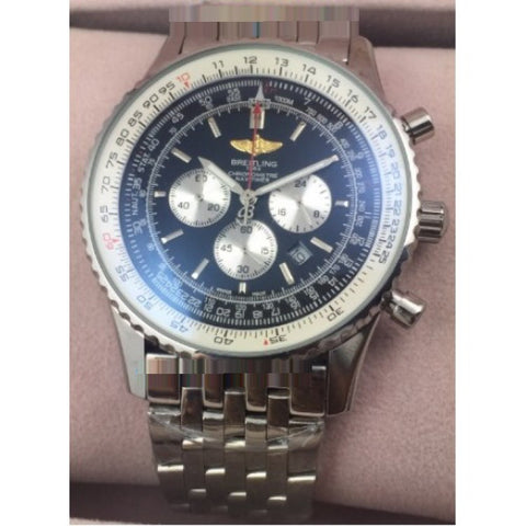 Breitling Navitimer Chronograph Steel Mens Watch